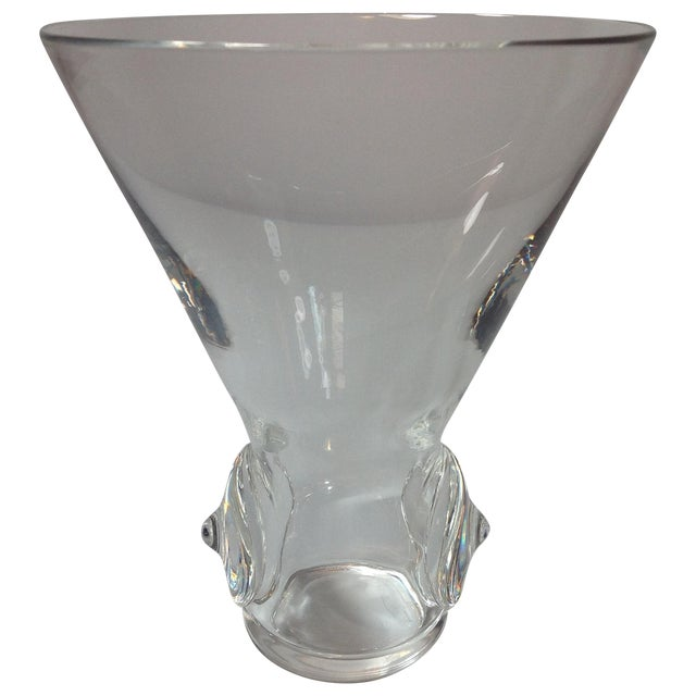 George Thompson for Stueben Art Glass Vase - Image 1 of 6