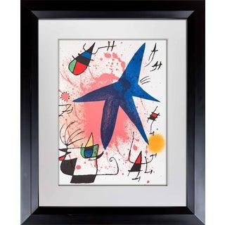 1972 Joan Miro Original Lithograph