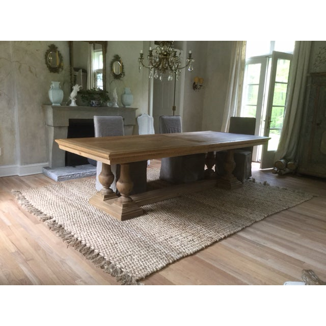 Restoration Hardware St James Rectangular Extension Dining Table