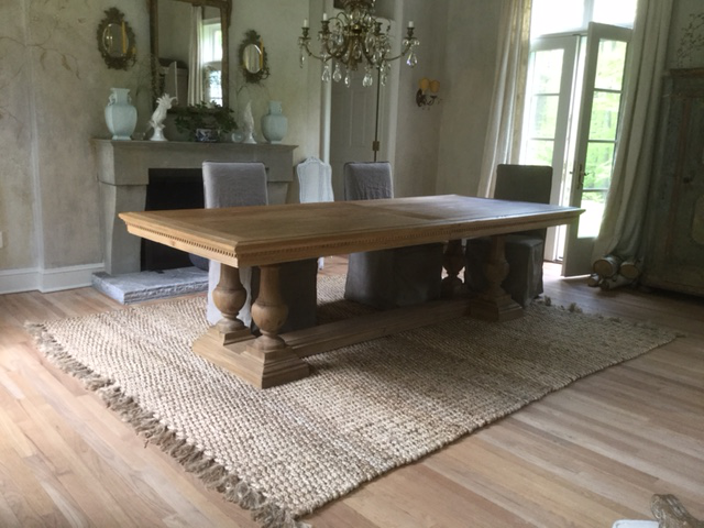 Restoration Hardware St. James Rectangular Extension Dining Table   Image 2  Of 8