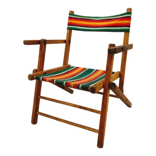 Antique Child-Size Cabana Chair