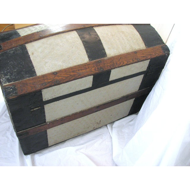 100 Year Old Saratoga Petite Dome Top Doll Trunk - Image 10 of 11
