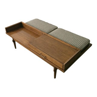 Merton L. Gershun for American of Martinsville Mid-Century Modern Coffee Table Bench
