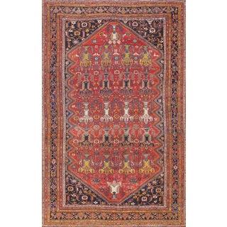 "Antique Persian Bakhtiari Rug- 13'8"" x 22'2"""