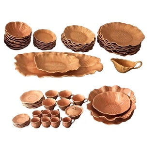 Vintage California Pottery Service - Set for Eight