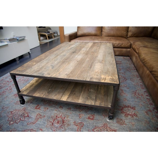 Restoration Hardware Dutch Industrial Coffee Table Chairish