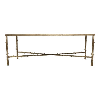 Metal Rectangular Coffee Table