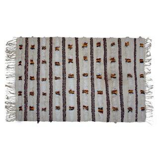 Handmade Moroccan Handira Blanket