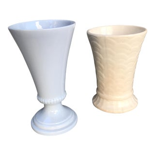 Vintage Ceramic Vases - A Pair