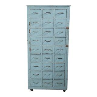 Vintage Multi-Drawer Cabinet