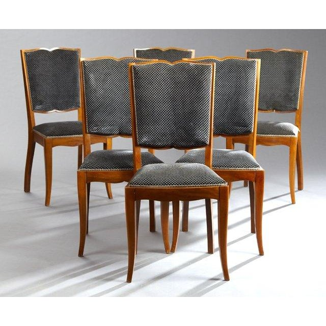 Art Deco Dining Chairs - Set of 6 - Image 2 of 4