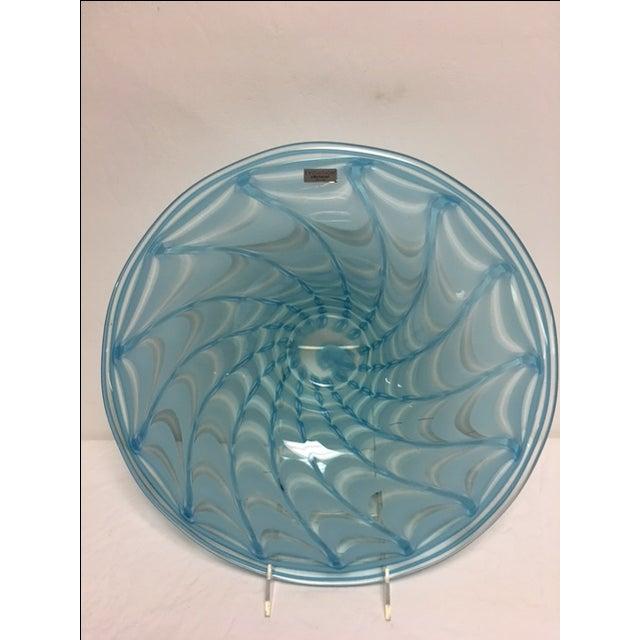 Waterford Evolution Aqua Art Glass Bowl - Image 4 of 8