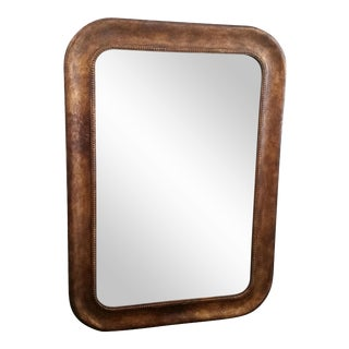 Antiqued Mercury Glass Mirror