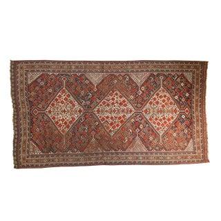 """Antique Shiraz Carpet - 5'1"""" x 9'3"""""""