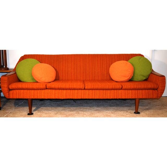 danish mid century modern sleeper sofa chairish. Black Bedroom Furniture Sets. Home Design Ideas
