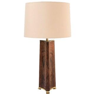 Laurel Lamp Co. Rosewood Table Lamp