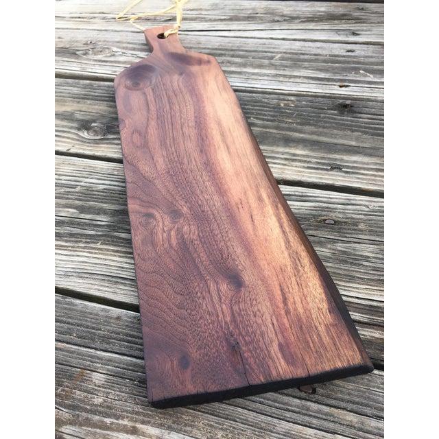 Image of Artisan Handmade Walnut Serving or Cutting Board