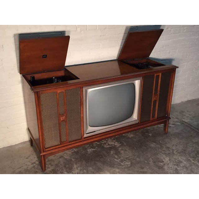 Mid-Century Television Stereo Console - Image 5 of 10