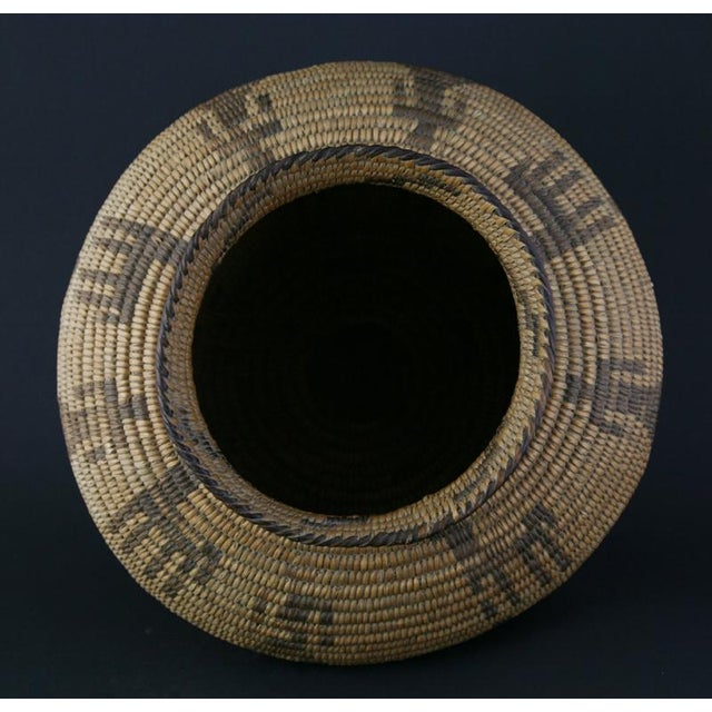 Pima Figurative Basketry Olla, circa 1920 - Image 7 of 7