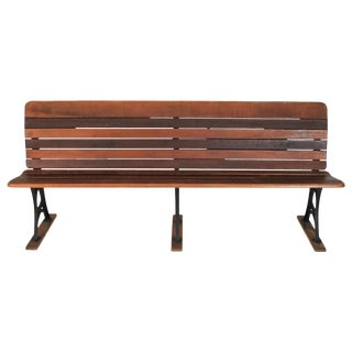 Antique School Bench