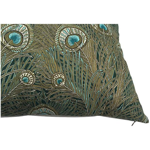 Image of Liberty of London Peacock Pillows - Pair