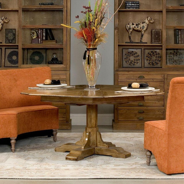 Sarreid LTD Hexagonal Jupe Dining Table - Image 4 of 4