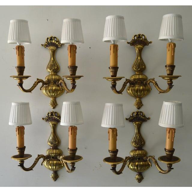 Image of French Boudoir Sconces - Set of 4
