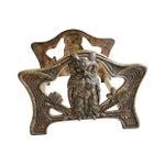 Image of 1920s Adjustable Art Nouveau Owl Book Holder