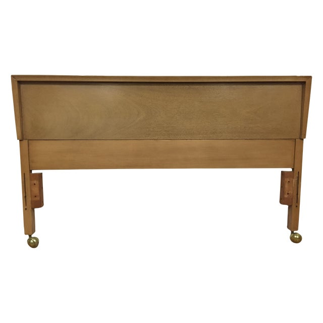 Bleached Mahogany Full Headboard - Image 1 of 5