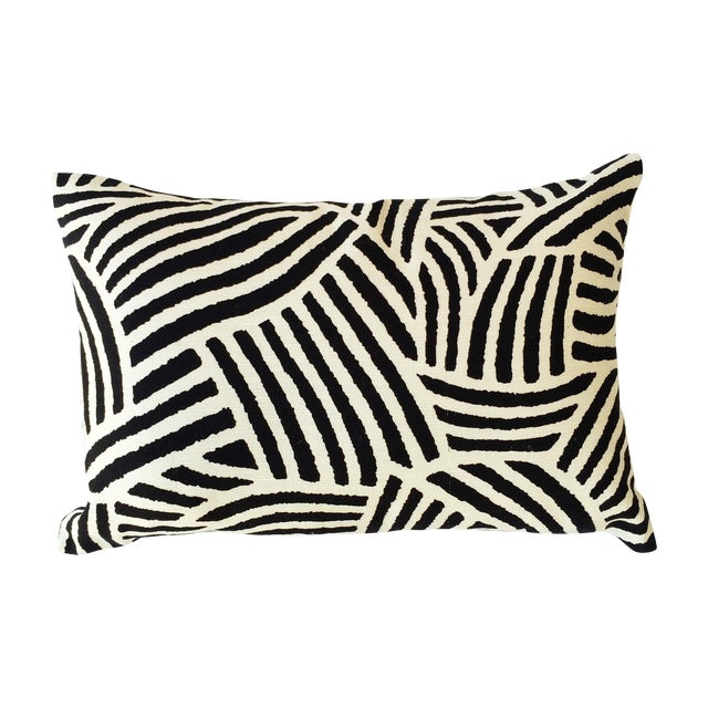 Modern Lumbar Pillows : Bold Modern Lumbar Pillow Chairish