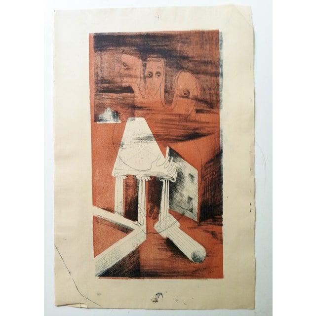 Image of Barbara Lekberg Mid-Century Original Sketch