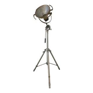 1940's Industrial Floor Lamp