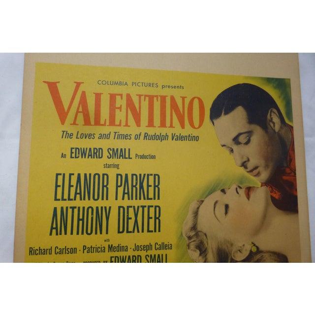1950s Valentino Movie Lobby Card - Image 4 of 11
