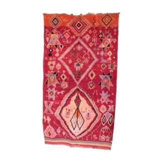 """Boujad Vintage Moroccan Rug - 5'5"""" x 9'5"""""""