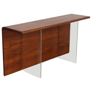 Gerald McCabe Convertable Console, Table or Shelf