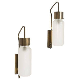 Bidone Wall Lamps by Luigi Caccia Dominioni