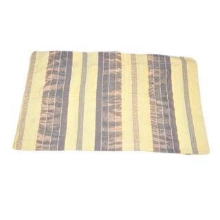 Handmade Moroccan Beige Sabra Throw Blanket