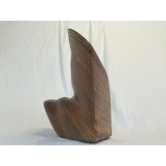 Decorative Wood Sculpture - Image 9 of 10