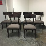 Image of Baker Furniture Transitional Dining Chairs - S/6