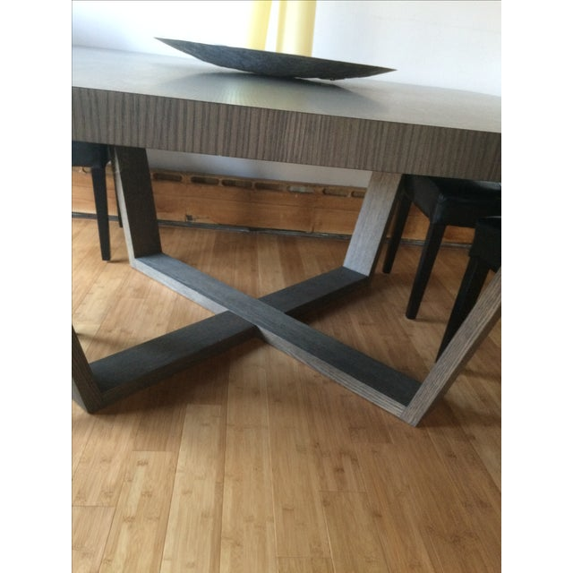 Contemporary Dining Table Maxalto Xilos Chairish