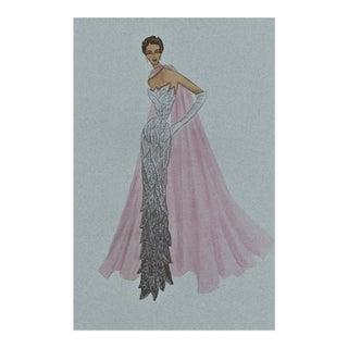 Valentino Fashion Design Print