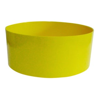 Massimo Vignelli Heller Yellow Salad Serving Bowl