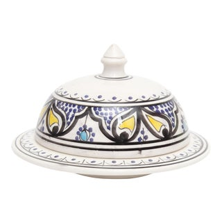 Moroccan Hand Painted Serving Tajine