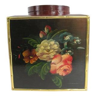 Floral Laquer Box