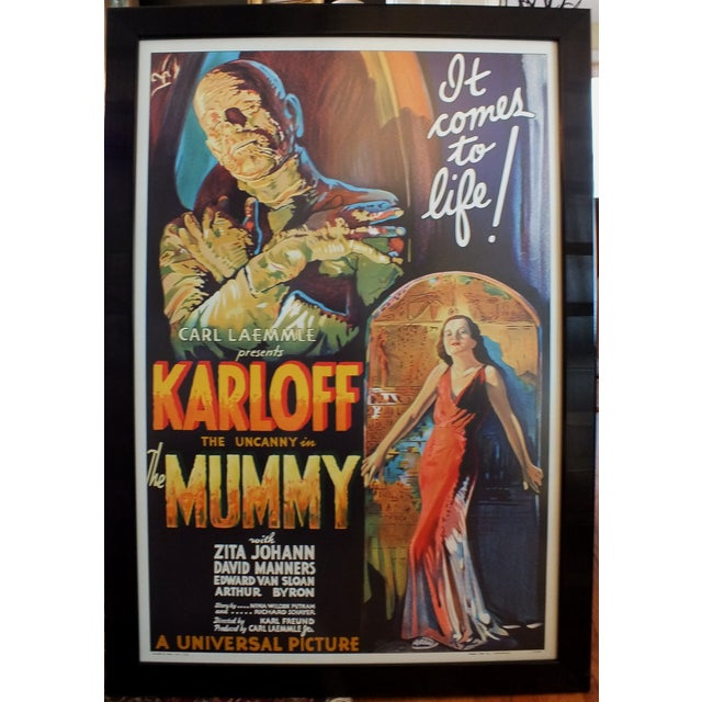 """Image of """"The Mummy"""" Movie Poster by Morgan Litho Company"""