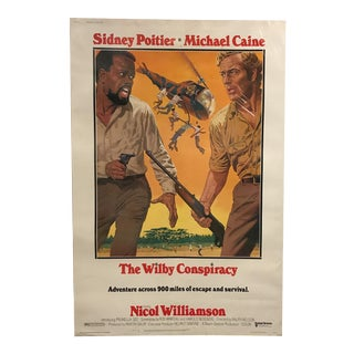 "United Artists ""The Wilby Conspiracy"" Vintage Movie Poster"