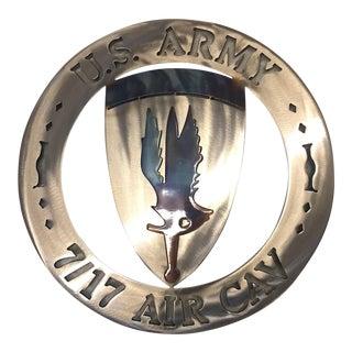US Army Air Cav Plaque