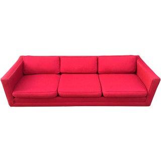 Milo Baughman for Thayer Coggin Pedestal Sofa