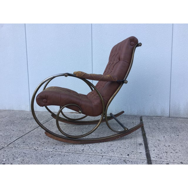 1960's Lee Woodard and Sons Rocking Chair - Image 4 of 11