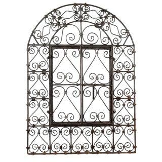 The Wrought Iron Window Grill Door